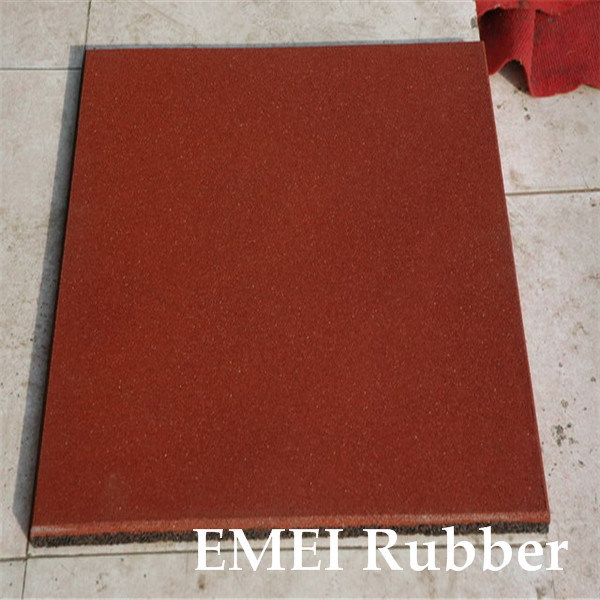 Colorful Rubber Flooring/Sfety Square Rubber Floor/Square Rubber Floor for Playground