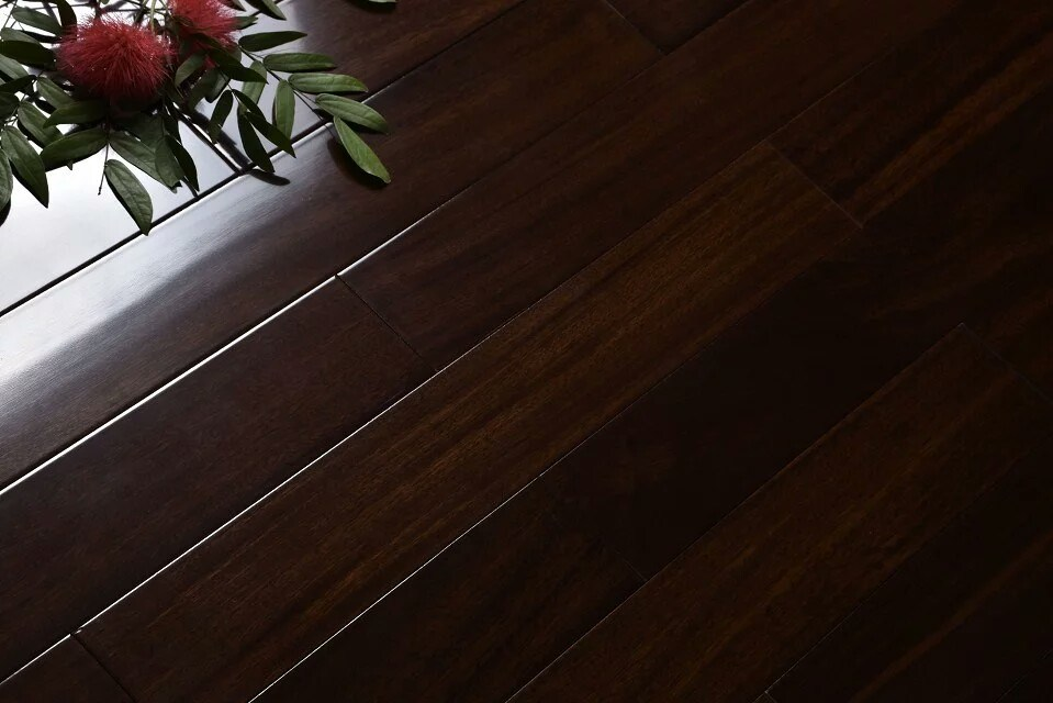 High-End Fashion African Rosewood of Natural Fact Wood Floor