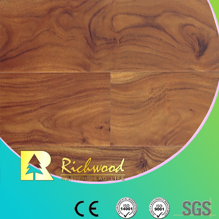 Household 10mm E1 AC3 Water Resistant Acacia Laminate Flooring