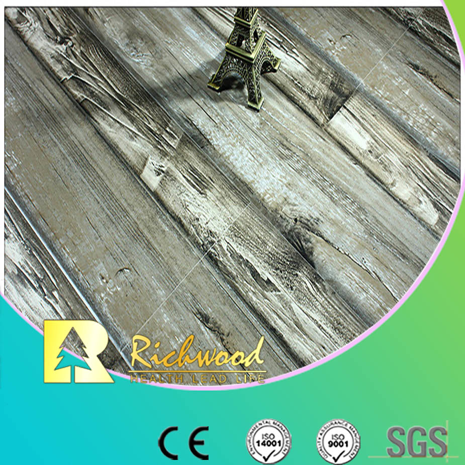 12mm Woodgrain Texture Oak Waterproof Laminate Flooring