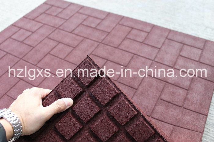 Colored SBR Rubber Granules Stable Mats