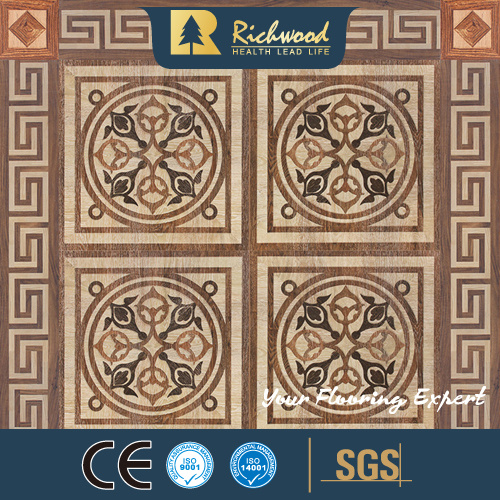 12.3mm AC4 Vinyl Maple Walnut Parquet Laminate Wood Wooden Flooring