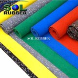Bright Color EPDM Commercial Rubber Gym Flooring