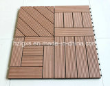 Interlocking WPC Waterproof Flooring Tiles, Deck Tiles (A-WT-10)