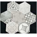 Modern Design Bathroom Hexagon Honed Marble M...