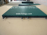 Plastic-Pipe Green EPDM Rubber Floor Mat