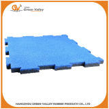 Anti-Shock Puzzle Rubber Floor Tile Mat for Gym Crossfit Area