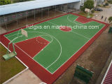 EPDM Granules Basketball Court Rubber Flooring