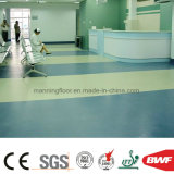 Indoor Solid Color Vinyl Flooring Sponge Floor Hospital Healthcare School Mr4002