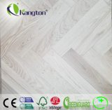 Cinder Gray Stone Style Oak Parquet Pattern Engineered Wood Floor