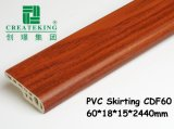 Vinly Floor 60mm Height PVC Skirting Board
