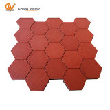 2'' Thick Hexagon Rubber Tiles for Playground...