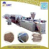 PVC Imitative Wall Stone-Siding Board/Sheet Brick-Pattern Plastic Extrusion Line