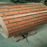 Double Colors Red Brick PPGI for Making Corrugated Roofing