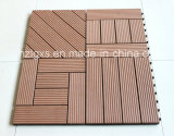 Outdoor DIY Decking Tile, WPC Decking Flooring