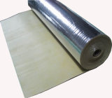 Sound Absorption Alumininum Foil Rubber Foam Underlay for All Kinds of Floor