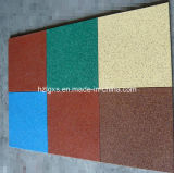 Surface EPDM Granules Playground Rubber Tiles