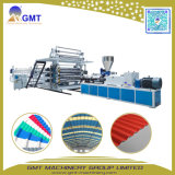 Durable PVC Corrugated Roof Sheet Tile Panel Plastic Extruder Machine