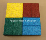 En1177 Approved Colorful Rubber Tiles for Pathway