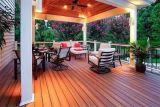 Greener Wood Outdoor Floor and Wall Ceiling