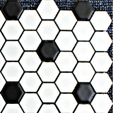 Hot Ceramic Mosaic Hexagon Tile