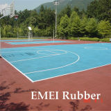 Basketball Outdoor Flooring/Rubber Mats/Tiles (EN1177)