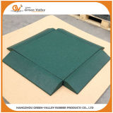 Safety Playground Rubber Tiles Rubber Mats Floor with Edging