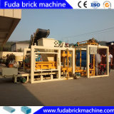 Full Automatic Concrete Pavement Brick Making Machine in Ghana