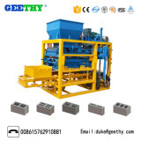 Qtj4-25c Concrete Hollow Brick Block Making Machine