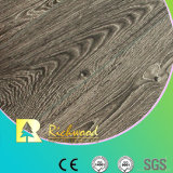 12.3mm E0 HDF Embossed Oak V-Grooved Waxed Edged Laminate Floor