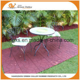 Environmental Non-Slip Outdoor Rubber Paver Floor Tiles for Patio