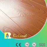 8.3mm E0 HDF AC4 Embossed Elm V-Grooved Waxed Edge Laminate Floor