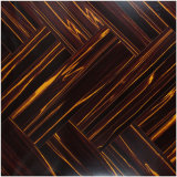 12.3mm E0 HDF Mirror Cherry Sound Absorbing Laminate Flooring