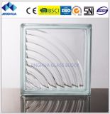 High Quality Best Price 190*190*80mm Clear Patterns Hollow Glass Block/Brick