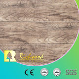 Vinyl 12.3mm E1 HDF Walnut Hand Scraped Laminated Wood Flooring
