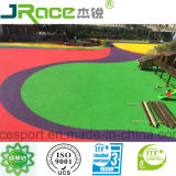 Saft and No Smell Kids Playground Spu Flooring