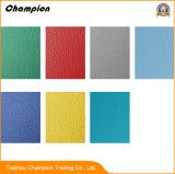 Lichee Pattern High PVC Sports Flooring; Quality PVC Sports Plastic Flooring Used Table Tennis Floor