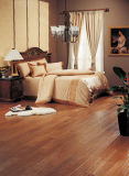 Water Resistant 12.3mm Hand-Scraped HDF Laminate Flooring