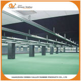 Safety Ballistic Rubber Flooring Tiles for Shooting Gallery