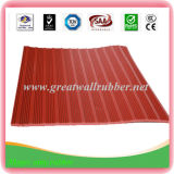 Colored Fitness Anti-Slip Rubber Flooring Mat Ribbed Rubber Sheet