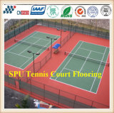 with ISO Approval Shock Absorbing outdoor Spu Sports Flooring