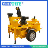 M7mi Diesel Engine Kenya Hydraform Interlocking Brick Machine