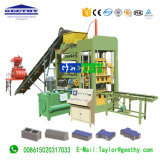 Qt4-15c Stationary Automatic Concrete Cement Brick Machine Made in China