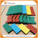 EPDM Rubber Pavers Rubber Tiles for Outdoor P...