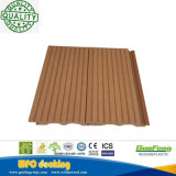 Easily Installed Interlocking Solid WPC Composite Decking Tile for Construction Flooring
